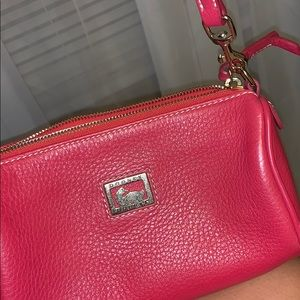 Red mini Dooney and Bourke purse